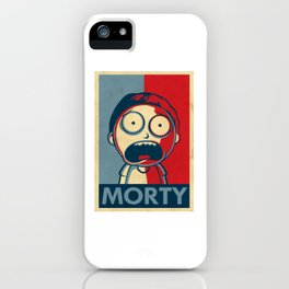MORTY iPhone Case
