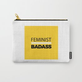 Feminist Badass Carry-All Pouch