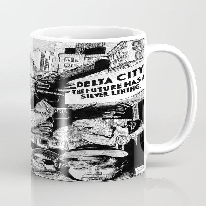 'Robocop 1987' Retro Style Movie Poster Coffee Mug