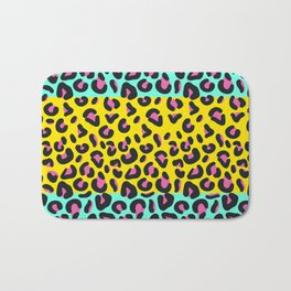 Abstract Leopard Pattern Bath Mat