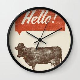 Hello ! Wall Clock