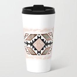 Geometry & Earth Pattern Travel Mug