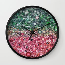 :: Watermelon Glass :: Wall Clock