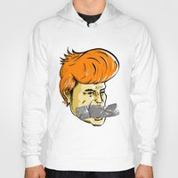 donald duck Hoodies featuring Donald Duct by madebymarco