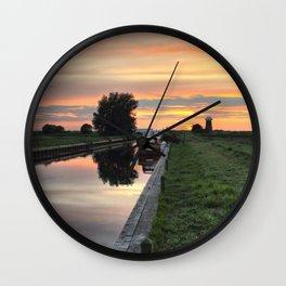 West Somerton Sunset Wall Clock