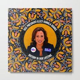 Vice President-Elect Kamala Harris, History in our Lifetime Metal Print