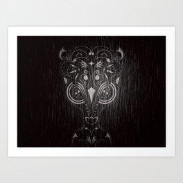 Bambi on acid Art Print