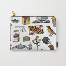 Maryland Flash Sheet - Color Carry-All Pouch
