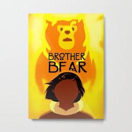 Brother Bear Metal Print