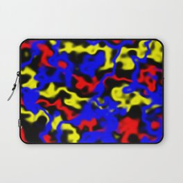 Red, Yellow, Blue Laptop Sleeve