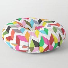 Ziggy chevron Floor Pillow