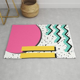 Circles and Lines Rug