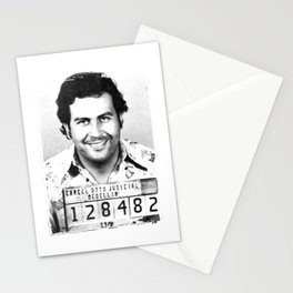 The King Of Cocaine Stationery Cards