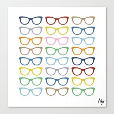 Glasses #3 Canvas Print