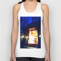 outdoor Tank Tops featuring In Through the Outdoor~ New York City by 13th Moon Social Club