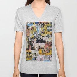 Basquiat World Unisex V-Neck