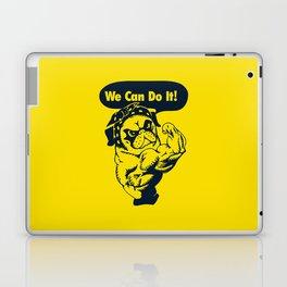 We Can Do It Pug Laptop & iPad Skin