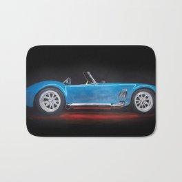 Shelby Cobra painting Bath Mat