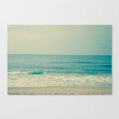 Blue H20 Canvas Print