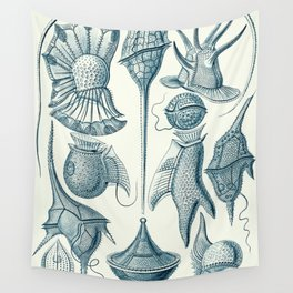 Ernst Haeckel Peridinea Plankton Wall Tapestry