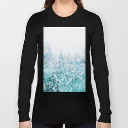 Snowy Pines Long Sleeve T-shirt