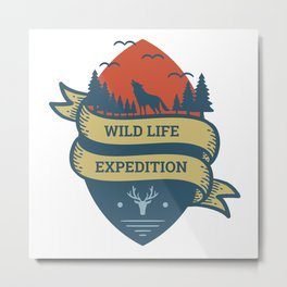Expedition Metal Print