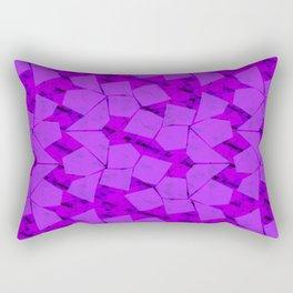 Funky Town (Purplish) Rectangular Pillow