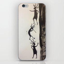 Dancing off the Edge iPhone Skin
