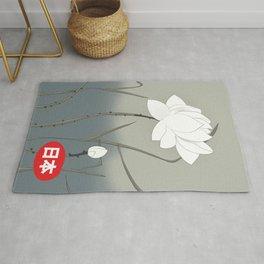 Japanese Rose Rug