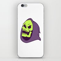 skeletor iPhone & iPod Skins featuring Skeletor Evil laugh by Komrod