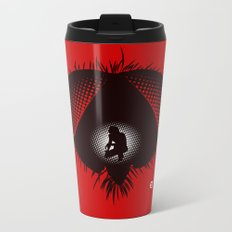 The Fly (Red Collection) Metal Travel Mug
