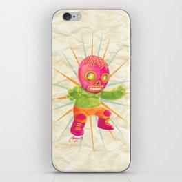 zombie ala lucha  iPhone Skin