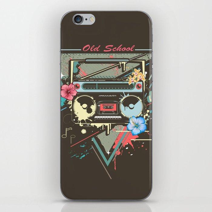 Ghetto Blaster iPhone Skin