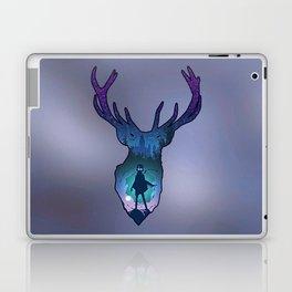 POTTER - PATRONUS ARTISTIC PAINT Laptop & iPad Skin