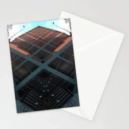 banque nationale belgique brussels rorschach symmetry caleidoscope mirror 23771 Stationery Cards