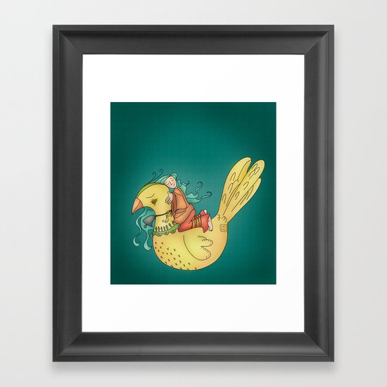 Together we can Framed Art Print