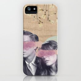 Feminine Collage IV iPhone Case