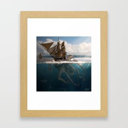 Great Giant Of The Sea Framed Art Print