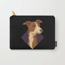 Cute Whippet Dog Design Carry-All Pouch