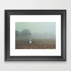 Don't go. Framed Art Print