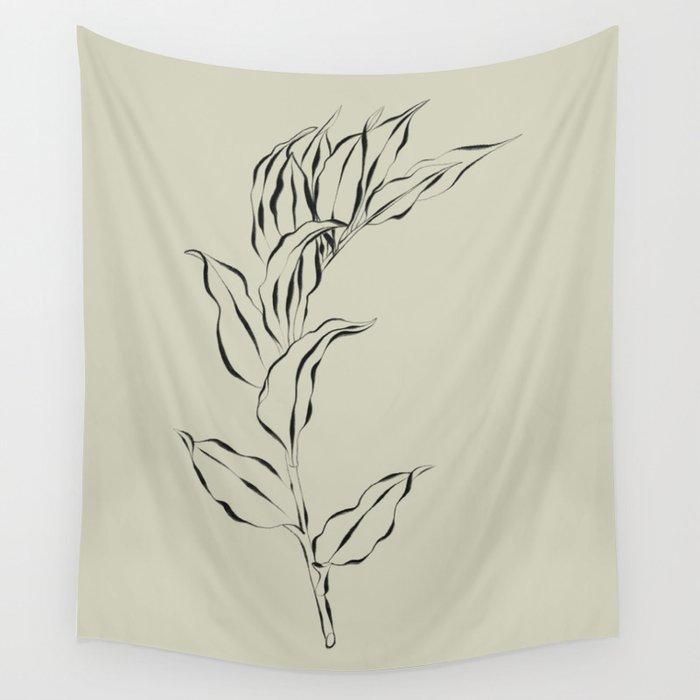 Elegant Branch #2 Wall Tapestry