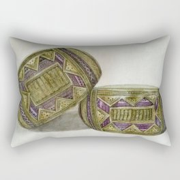 traditional armband Rectangular Pillow