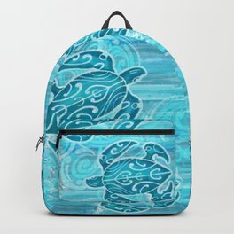 Hawaiian Tribal Honu's Backpack