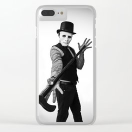 Let The Magic Show Begin Clear iPhone Case