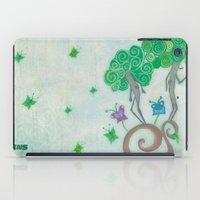 surrealism iPad Cases featuring Tree Surrealism by Design SNS - Sinais Velasco