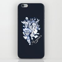 digimon iPhone & iPod Skins featuring Digimon Memories by Cursed Rose