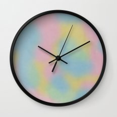 Rainbow Paddle Pop Wall Clock