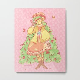 Forest Witch Metal Print