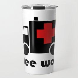 Wee Woo Ambulance Travel Mug