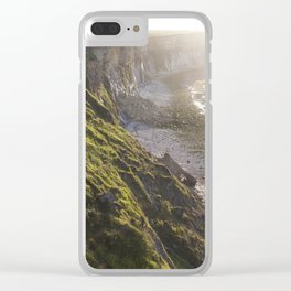 The Beautiful Cliffs of France Clear iPhone Case